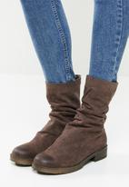 Footwork - Calla slouchy boot - brown