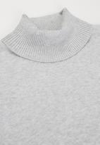 MANGO - Bella sweater - grey