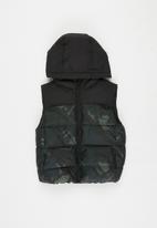 MANGO - America waistcoat - khaki