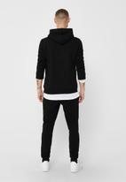 Only & Sons - Ceres life hoodie sweat - black