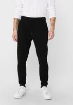 Only & Sons - Ceres life sweat pants - black