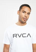RVCA - Bigrvcashort sleeve tee - white