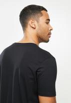 RVCA - Bigrvcashort sleeve tee - black