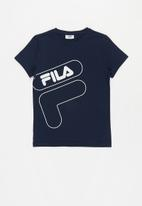 FILA - Xavier short sleeve tee - navy