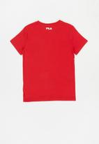 FILA - Xavier short sleeve tee - red