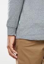 Vissla  - Vintage vissla heather long sleeve - grey