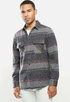 Vissla  - Barns long sleeve flannel - multi
