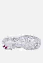 Under Armour - Ua w charged vantage clrshft - white / white / asteroid pink