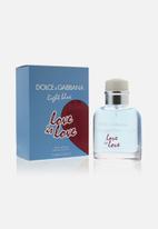 Dolce & Gabbana - D&G Light Blue Love Is Love Pour Homme Edt - 75ml (Parallel Import)