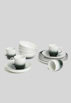 Galateo - Ombre side plate set of 4 - black