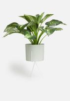 H&S - Planter on stand - light grey