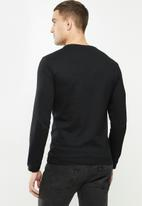 S.P.C.C. - Cooper long sleeve tee - black