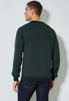 Superbalist - Sporty crew pullover knit jersey - green