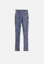 name it - Frua leggings - blue & black