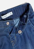 name it - Frie cuffed leg jeans - blue