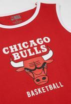 NBA - Bulls retro vest - red