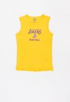 NBA - Lakers retro vest - yellow