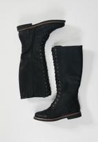 Butterfly Feet - Denali combat boot - black