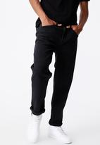 Factorie - Relaxed fit jean - black wash