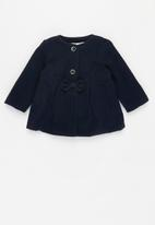 MINOTI - Faux wool coat - navy