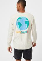 Cotton On - Tbar long sleeve T-shirt - white