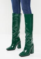 Footwork - Nodini knee length boot - green