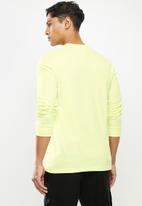 adidas Originals - Adidas summer T-shirt - yellow