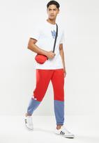 adidas Originals - Slice trf sp pants - red & blue
