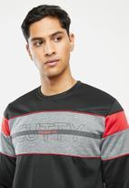 Cutty - Jacket sweater - black