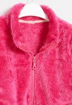 POP CANDY - Girls faux fur jacket - hot pink