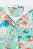 POP CANDY - Girls floral hooded jacket - mint