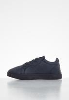 SOVIET - K issey low cut casual lace ups - navy