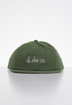 DC - Script cap - olive