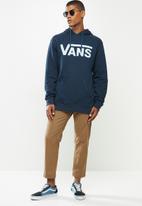 Vans - Vans classic hoodie - dress blues