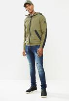 Cutty - Jacket lightweight - khaki & black