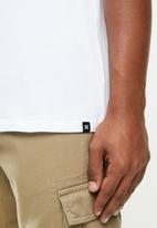 Hurley - Fastlane prem short sleeve T-shirt - white