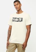 Hurley - Boxed short sleeve T-shirt - stone