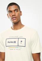 Hurley - Pop bar prem short sleeve T-shirt - stone