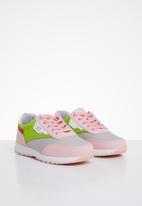 Pierre Cardin - Kids 00016 sneaker - pink/green