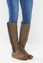 Miss Black - Route 6610 riding boot - choc