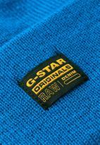 G-Star RAW - Effo beanie long - light royal blue