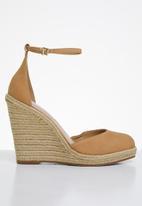 ALDO - Nasua suede wedge heel - tan