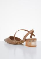 ALDO - Atura heel - light brown