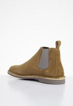 Veldskoen - Chelsea boot - farmer - brown & grey