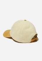 Rubi - Hailey structured cap - retro yellow