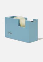 Typo - Tape dispenser - denim blue