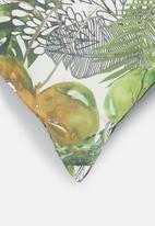 Hertex Fabrics - Kringebos outdoor cushion cover - moss