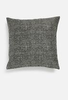 Hertex Fabrics - Thasson outdoor cushion cover - black