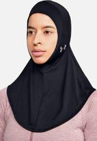Under Armour - Ua sport hijab - black & silver