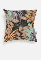 Sixth Floor - Tropical jungle outdoor cushion cover - multi